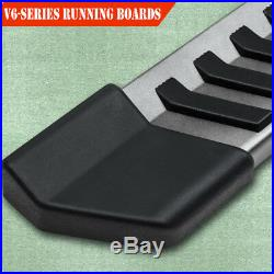 For 07-18 CHEVROLET Tahoe 6 Running Board Nerf Bar Side Step Side Bar V Grey