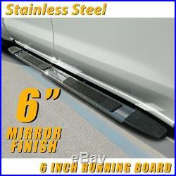 For 07-18 CHEVROLET Tahoe 6 Running Board Side Step Nerf Bar Side Bar S/S S