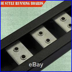 For 07-18 Chevrolet Silverado Crew Cab 5Running Board Side Step Nerf Bar BLK DH