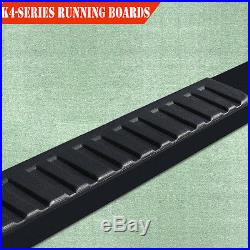 For 07-18 Chevy Silverado Double/Ext. Cab 4 Running Board Nerf Bar Side Step H