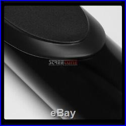 For 07-18 Silverado Extended Cab 3 Black Heavyduty Side Step Bars Rail Board Hd