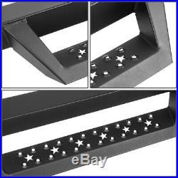 For 07-19 Silverado Sierra 3 Regular Cab L-bar Step Nerf Bar Running Boards