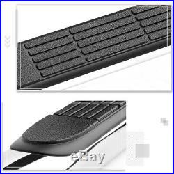 For 07-19 Silverado/Sierra Crew Cab 3 Side Step Nerf Bar Running Board Chrome