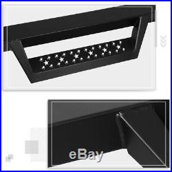 For 07-19 Silverado/Sierra Crew Cab 4.5Side Nerf Bar Running Board withCleat Step