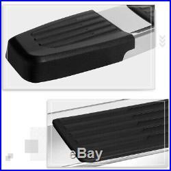 For 07-19 Silverado/Sierra Crew Cab 6 Side Step Nerf Bar Running Board Chrome