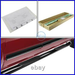 For 07-19 Silverado Sierra Extended Cab 3 Round Tube Step Bar Running Boards