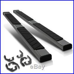For 07-19 Silverado/Sierra Extended Cab 5Side Step Nerf Bar Running Board Black