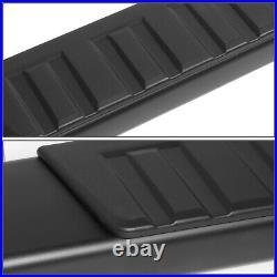 For 07-19 Silverado Sierra Extended Cab 6 Aluminum Step Bar Running Boards