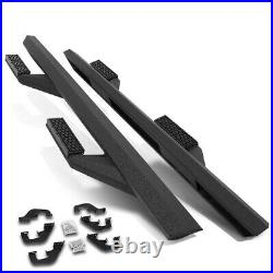 For 07-19 Silverado/Sierra Extended Cab Nerf Bar Running Board with3.35 Step Pads