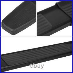 For 07-19 Silverado Sierra Regular Cab 6 Aluminum Side Step Bar Running Boards