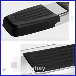 For 07-19 Silverado/Sierra Regular Cab 6 Side Step Nerf Bar Flat Running Boards