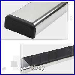 For 07-19 Silverado/Sierra Standard Cab 4.75 Side Step Nerf Bar Running Board
