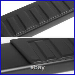 For 07-19 Silverado Sierra Standard Cab 6 Aluminum Step Nerf Bar Running Boards