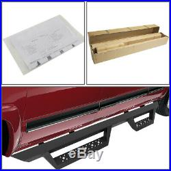 For 07-19 Silverado Sierra Truck Extended Cab 4.5Running Board Step Nerf Bar