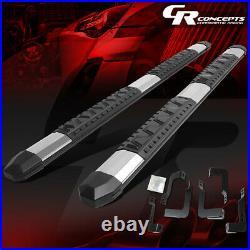 For 07-19 Silverado/sierra Ext Cab 5aluminum Side Step Nerf Bars Running Board