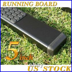 For 09-17 CHEVY TRAVERSE/GMC ACADIA 5 Side Step Running Board Nerf Bar Black DH