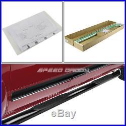 For 10-16 Chevy Equinox/gmc Terrain Suv Black 3side Step Nerf Bar Running Board