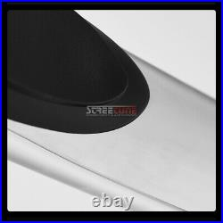 For 10-17 Equinox/Terrain 3 Chrome Stainless Side Step Bars Running Boards Hd