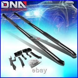 For 10-17 Equinox/terrain Suv Black Steel 3side Step Nerf Bar Running Board Kit