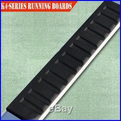 For 14-18 CHEVROLET Tahoe 4 Nerf Bar Side Bar Running Board Side Step Chrome H