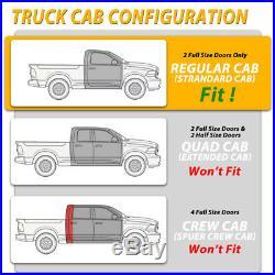For 14-18 Chevy Silverado Regular Cab 3Drop Side Step Nerf Bar Running Board BD
