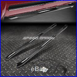 For 15-16 Colorado/canyon Crew Cab Black 3 Side Step Nerf Bar Running Board
