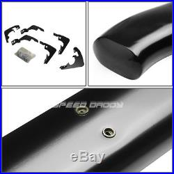 For 15-16 Gm Colorado Crew Cab 5 Black Curved Oval Step Nerf Bar Running Board