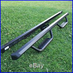For 15-18 Colorado/Canyon Crew Cab 3 Running Board Nerf Bar Side Step BLK BD