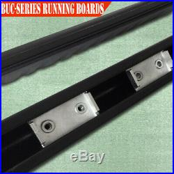 For 15-19 Colorado/Canyon Crew Cab 3 Running Board Side Step Nerf Bar Black BUC