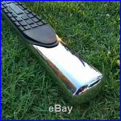 For 15-20 Colorado/Canyon Crew Cab 4 Running Board Side Step Nerf Bar S/S Oval