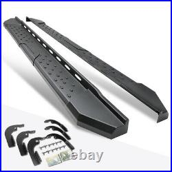 For 15-20 Colorado/Canyon Crew Cab 5.5 Side Step Nerf Bar Running Board Black