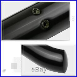 For 15-20 Colorado/GMC Canyon Crew Cab 3 Side Step Nerf Bar Running Board Black