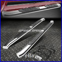For 15-20 Colorado/canyon Ext 4chrome Curved Oval Step Nerf Bar Running Board