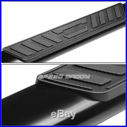 For 15-20 Colorado/canyon Ext 5 Black Curved Oval Step Nerf Bar Running Board