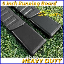 For 15-21 Colorado/Canyon Extended Cab 5 Side Step Running Board Nerf Bar BLK H