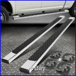 For 19-20 Chevy/gmc Silverado Sierra Crew Cab 5 Ss Flat Step Bar Running Boards