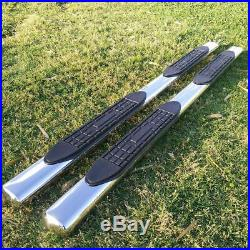 For 19-20 SILVERADO/SIERRA Double Cab 4 Running Board Nerf Bar Side Step Oval