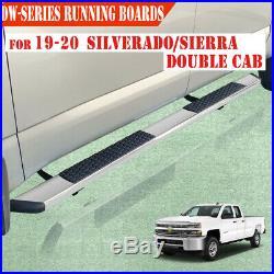 For 19-20 SILVERADO/SIERRA Double Cab 5.5 Running Board Side Step Nerf Bar DW