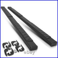 For 19-20 Silverado/Sierra Crew Cab 5 Side Step Nerf Bar Running Boards Black