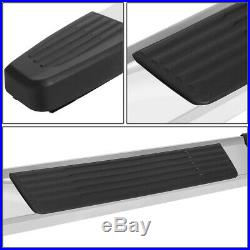 For 19-20 Silverado Sierra Crew Cab 6 Stainless Side Step Bar Running Boards