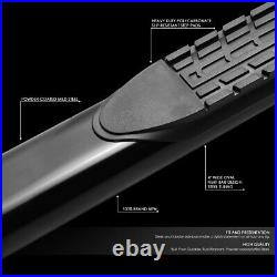For 19-20 Silverado Sierra Extended Cab 4 Side Step Nerf Bar Running Boards
