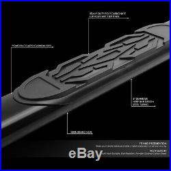 For 19-20 Silverado Sierra Extended Cab 6''od Oval Nerf Step Bar Running Boards