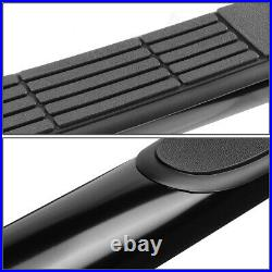 For 1999-2014 Silverado Sierra 1500-3500 Crew Cab 3Nerf Step Bar Running Board