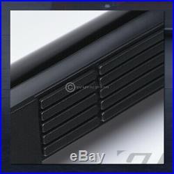 For 1999-2018 Silverado/Sierra Regular 3 Blk Side Step Nerf Bars Running Boards