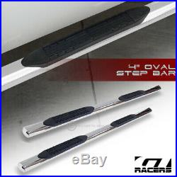 For 2004-2012 Colorado/Canyon Extended 4 Chrome Side Step Bars Running Boards