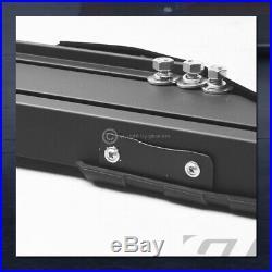 For 2007-2018 Chevy Silverado Crew Cab 5 Matte Black TI Aluminum Running Boards