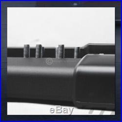 For 2007-2018 Chevy Silverado Crew Cab 6 Matte Black OE Aluminum Running Boards
