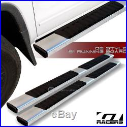 For 2007-2018 Silverado Crew Cab 6 Oe Style Aluminum Side Step Running Boards