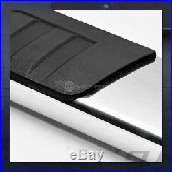 For 2007-2018 Silverado/Sierra Ext Cab 6Aluminum Side Step Running Boards