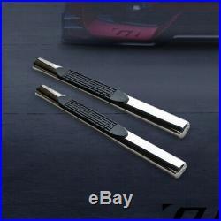 For 2007-2018 Silverado/Sierra Reg 4 Chrome Side Step Nerf Bars Running Boards